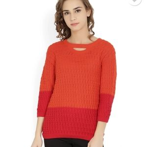 United colors of benetton color block sweater